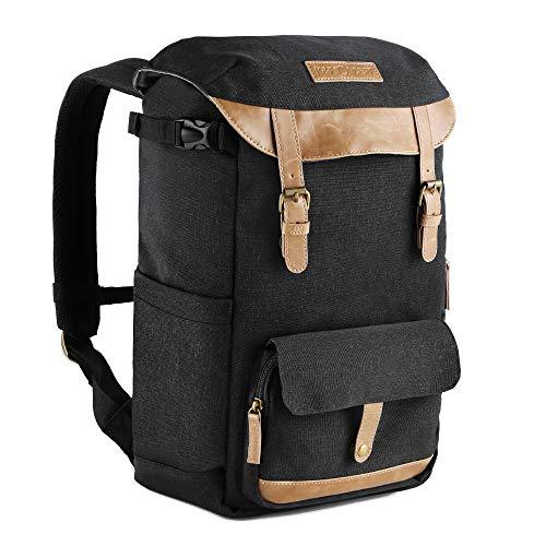 K&F Concept Kamerarucksack Fotorucksack wasserdicht Kameratasche DSLR Rucksack mit Laptopfach für Spiegelreflexkamera