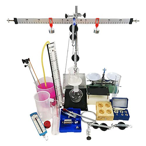 Mechanik Physik Experiment Set Flaschenzug Block Hebel Balance Qualität Dichte Balance Flüssigkeitsdruck Physik Lehrinstrument
