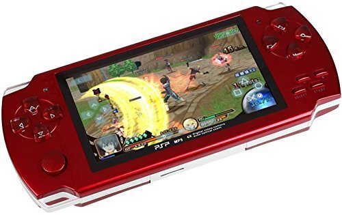 SHOPEE PSP GAME IN-1001 PB 4 GB with 10000 GAMES (COLOR ASSORTED)