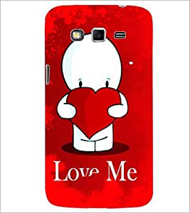 PrintDhaba Love Quote D-2794 Back Case Cover for SAMSUNG GALAXY GRAND 2 (Multi-Coloured)