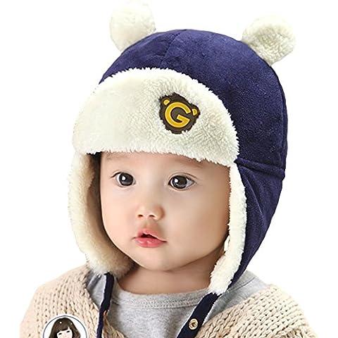 EOZY Sombrero del Bebé Niños Aviador Caliente de Invierno