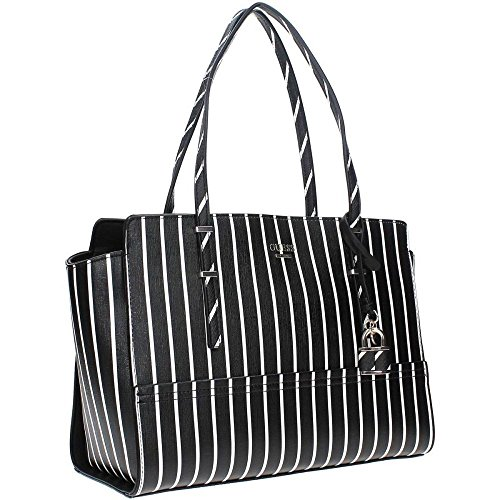 Guess ST642110 Borsa A Mano Donna Ecopelle BLACK STRIPE Black Stripe