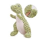 AZX Dinosaurier - Bambola Gonfiabile in Peluche, per Animali Domestici, Tenere i Denti puliti e Il Vostro Cane Felice
