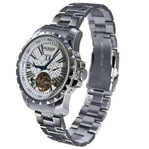 Baxx-Bloom - Sportclassic - B411051 - Montre Homme - Automatique - Analogique - Bracelet Acier Inoxydable Argent