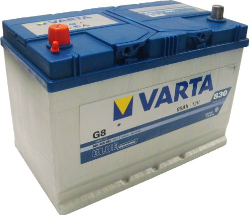 Varta 5954050833132 Blue Dynamic G8 Autobatterie 12 V 95 Ah 830 A