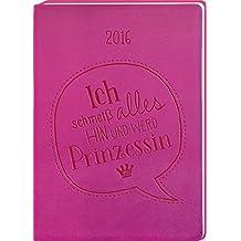 Timer Pink 2016: Terminplaner in Lederoptik
