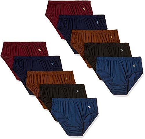 Rupa Jon Women's Cotton Panty (Pack of 10)(Colors May Vary)(JN ASH PLN PNTY-PO10!_ASSRT!_90)