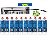 Kinzo K0318 Unkrautbrenner Unkrautvernichter 80cm, inkl...
