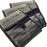 3x penpouch marker storage - el original - bolsillo de rotuladores professional, para el marcadores de diseño y renderizado Beleduc, Copic, Edding, Tria etc., billetera marcador, rollo de tela, suministro de signo - Oferta 3 por 2