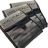 3x penpouch Marker Tasche Tragetasche Mäppchen Etui - professionelle Stiftemappe für Copic, Tria, Edding, Beleduc u.a. Design Filzstifte, Stoff