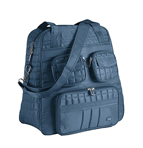 lug-womens-puddle-jumper-overnight-and-gym-top-handle-bag-ocean-blue