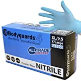 BODYGUARD GL8955 Latex Disposable Gloves - Blue