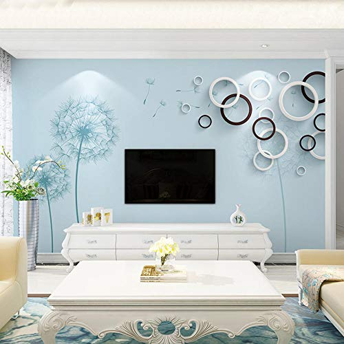 Tapete des Wandbildes 3d Wohnzimmer Schlafzimmer Fernsehhintergrundwand Fernsehhintergrundwandpapier moderne unbedeutende wilde 8d Wand der Filmart und weise 3d350cm×256cm