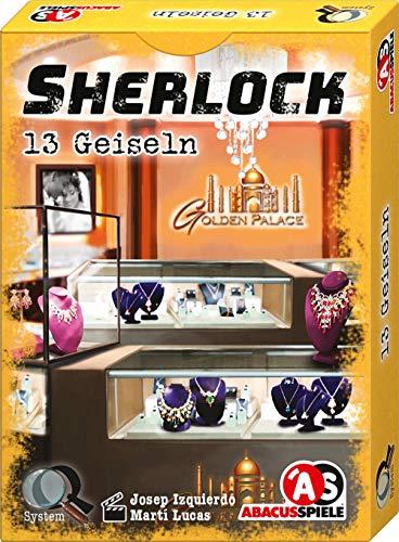Abacusspiele 48195 Sherlock - Juego de Cartas de 13 rehenes