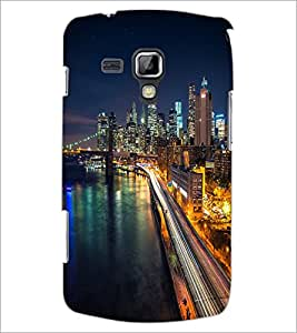 PrintDhaba Maine Drive D-2036 Back Case Cover for SAMSUNG GALAXY S DUOS 2 S7582 (Multi-Coloured)