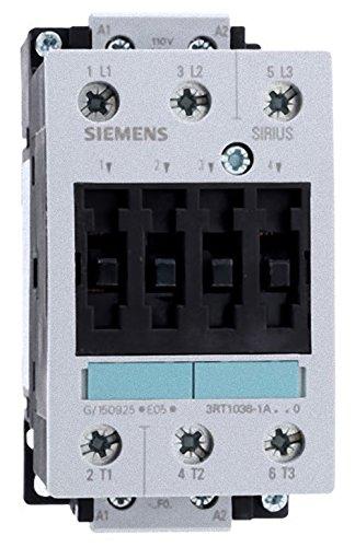 SIEMENS 3RT10 - CONTACTOR S2 50A 22KW 110VAC