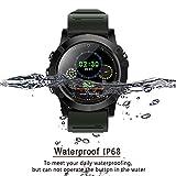 IDOOSMART Fitness Armband mit Pulsmesser,Wasserdicht IP68 Fitness Tracker,Farbbildschirm Aktivitätstracker Fitness Uhr Smartwatch,Pulsuhren,Schrittzähler Uhr,Smart Watch für Damen Herren
