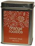 Vintage Teas Rotbuschtee mit Orange lose in Metalldose
