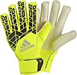 adidas Kinder Ace Junior Torwarthandschuhe, Solar Yellow/Black, 6