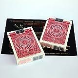 SOLOMAGIA 2 (due) Mazzi di carte Tally Ho - Circle Back - dorso rosso