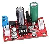 MagiDeal NE5532 Dynamisches Mikrofon Verstärker-Brett DC 9V Stromversorgung Stereo Vorverstärker Ton Platte Board mit Kabel