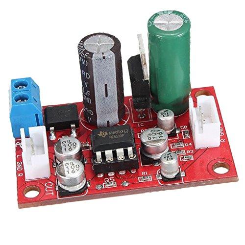 Homyl Ne5532 Dynamisches Mikrofon amp Hifi Verstärker Lautstärke Steuerplatine Vorverstärker Diy mit Signal Shield Wire