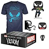 pop Funko Marvel Collector Corps, Subscription Box, Venom Theme Large T-Shirt Size