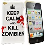 Image of Accessory Master Case for Apple iPod touch 4 Keep Calm And Kill Zombies White - Comparsion Tool
