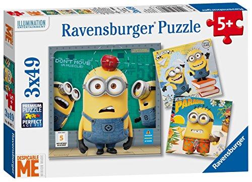 Preisvergleich Produktbild Minions Despicable Me Puzzle 3 x 49 Teile