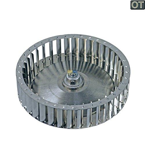 ORIGINAL AEG Electrolux 136407410 1364074102 Warmluftgebläse Lüfterrad Gebläserad Lüfter Umluft Metall Wäschetrockner Trockner Trocknerautomat auch Zanker Zanussi (Trockner-gebläse-rad)