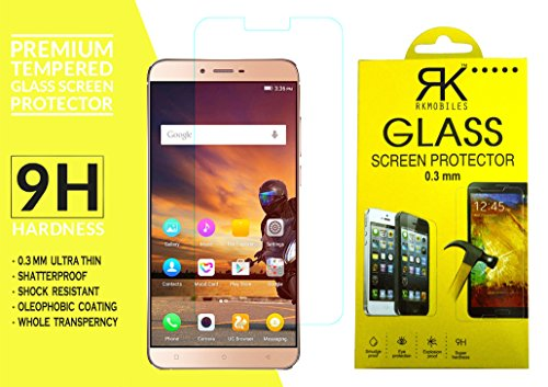 Gionee S6s Tempered Glass, 9H Hardness Ultra Clear, Anti-Scratch, Bubble Free, Anti-Fingerprints & Oil Stains Coating (For Gionee S6s)