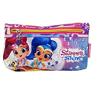 Shimmer and Shine Estuche Escolar Làpices de colores Necesser Ninos