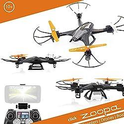 ACME - zoopa Q 400 Hunter Race-Quadrokopter - genial für Draussen   2,4GHz   FPV   360° Flip (ZQ0400)