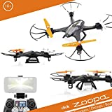 ACME - zoopa Q 400 Hunter Race-Quadrokopter - perfect for outdoor |live view with smartphone app | 2.4GHz | FPV | 360° Flipp (ZQ0400)