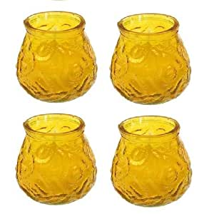 4 citronella anti m cken kerzen duftkerzen im glas windlichter h he ca 10 5 cm. Black Bedroom Furniture Sets. Home Design Ideas