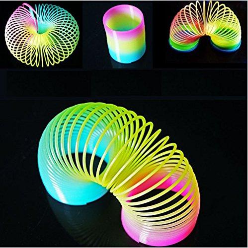 SwirlColor Grandi dimensioni Magic Rainbow cerchio cerchio e l'elasticità della molla per i bambini