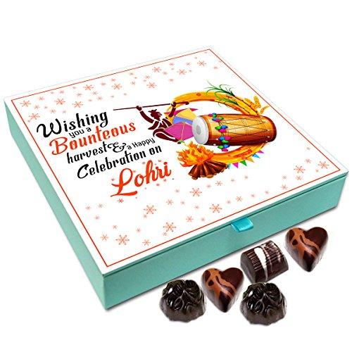 Chocholik Lohri Gift Box - Wishing You A Bounteous Harvest On Lohri Chocolate Box - 9Pc