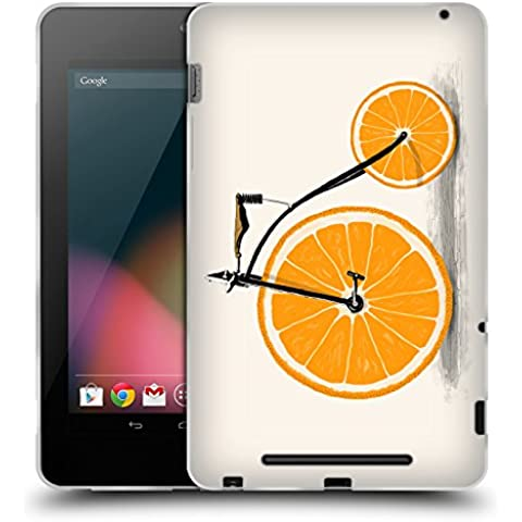 Ufficiale Florent Bodart Vitamine Biciclette Cover Morbida In Gel Per Asus Google Nexus 7