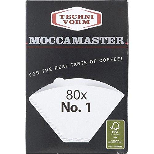 Technivorm Moccamaster 85090 Cup One Papierfilter, Größe weiß
