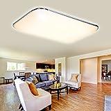 Hengda® LED Deckenleuchte Deckenlampe Leuchte Modern Angenehmes Licht für Korridor Esszimmer Wohnzimmer (96W Warmweiß)