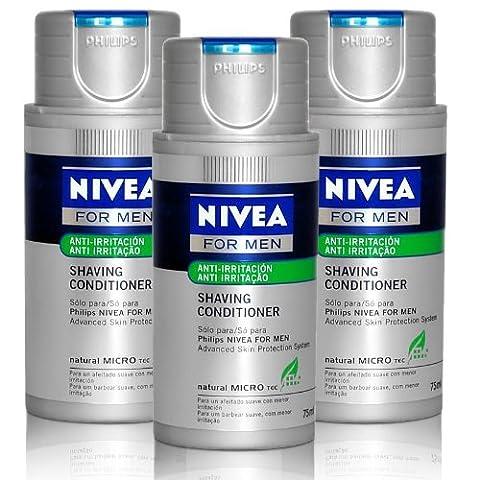 3x Philips Hs 800/04 Rasage Emulsion Nivea For Men