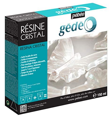 Pebeo 766150 Gedeo Kristallharz, 150 ml Kit -