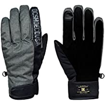 DC Shoes Deadeye Guantes de Snowboard/Esquí, Hombre, Gris (Dark Shadow Solid), S