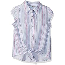 Calvin Klein Girls' Front Tie Top