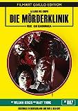 Die Mörderklinik - Uncut - Filmart Giallo Edition Nr. 7