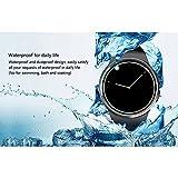 Sununitec Herzfrequenz-Monitor Smart Watch KW18,unterstützt SIM- und TF-Karte, Armbanduhr, Schrittzähler, Schlafmonitor, Anti-Verlust, Bluetooth, für iOS und Android - 6