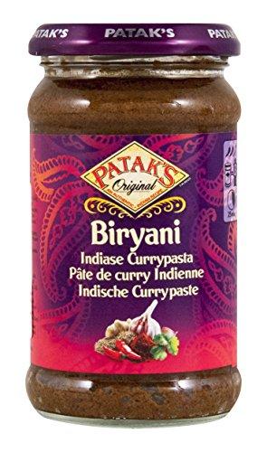 PATAKS, Biryani Indische Currypaste, 283g