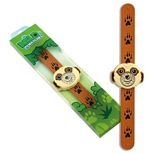 Image of Children's Meerkat Watch with silicone wrap-around strap