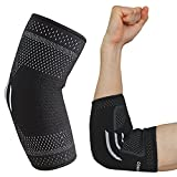 #2: COMPRESSX Elbow Support Brace For Tendonitis Arthritis Support Adjustable Bandage Sports Elbow Joint Injury Full Arm Sleeve Stabilizer Strap Elbow-Pain Relief Compression Sleeve Tennis Golfers Elbow