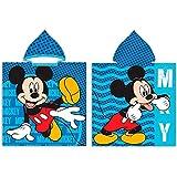 New Import Poncho Mickey Mouse Disney - Capa de Baño Mickey Mouse Microfibra